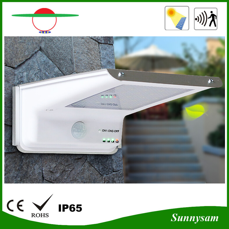 380lm 35LED Solar Power Outdoor Security Street Light for Garden