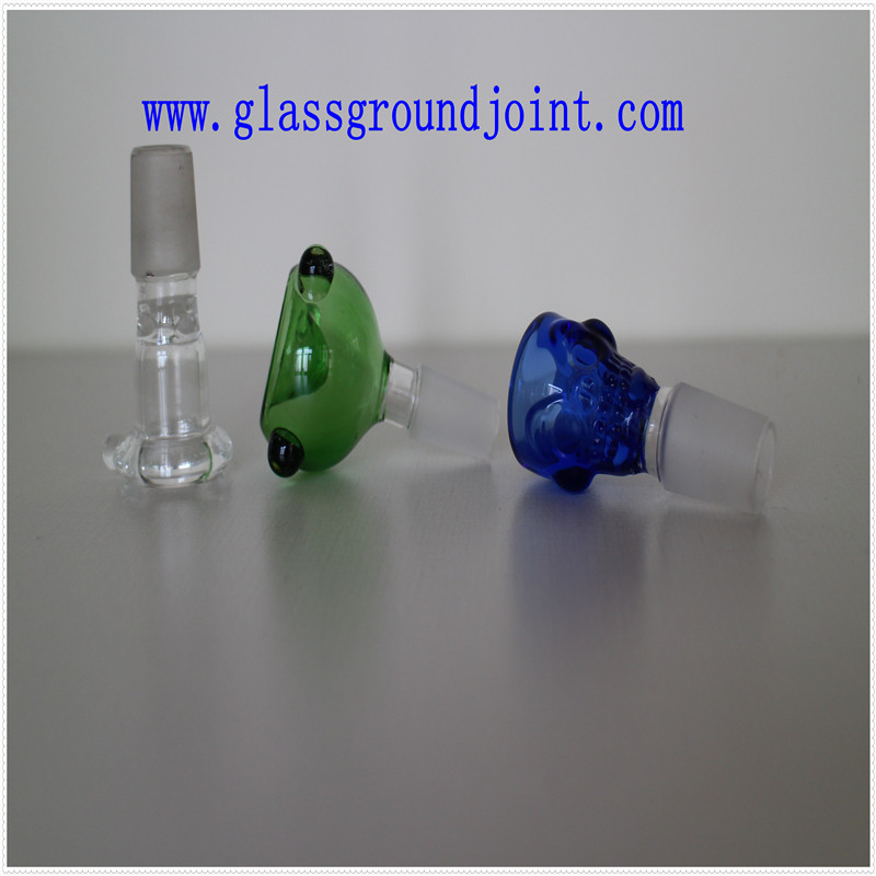 Smoking Glass Pipe with Glass Ground Joints