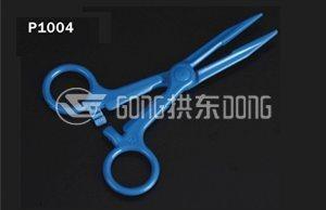 CE and FDA Certificated Blue Scissors Titanium Coating Hair