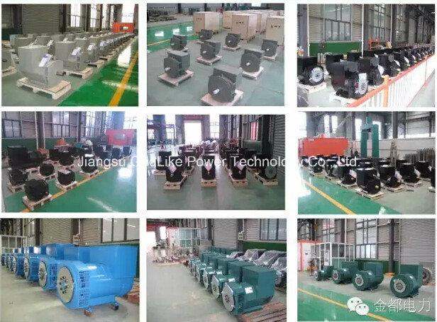 Ce, ISO Approved China Famous Brand Brushless Alternator 80kw/100kVA (JDG274C)