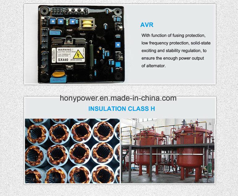 Generatorhonypower Fuan 500kVA/400kw /Brushless Self-Exciting Synchronous AC Alternator