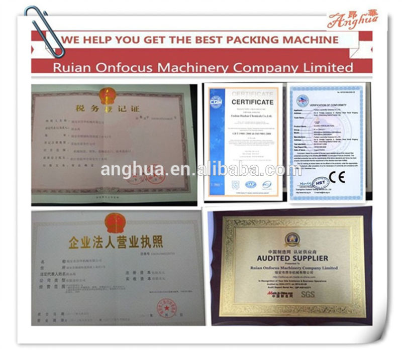 Automatic Beans Packing Machine in Plastic Bag (AH-KLJ100)