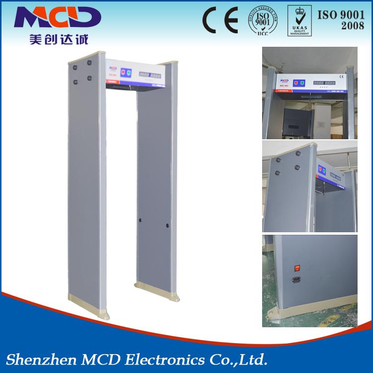 Practical Walkthrough Metal Detector/Door Frame Metal Detector Gate Mcd-100