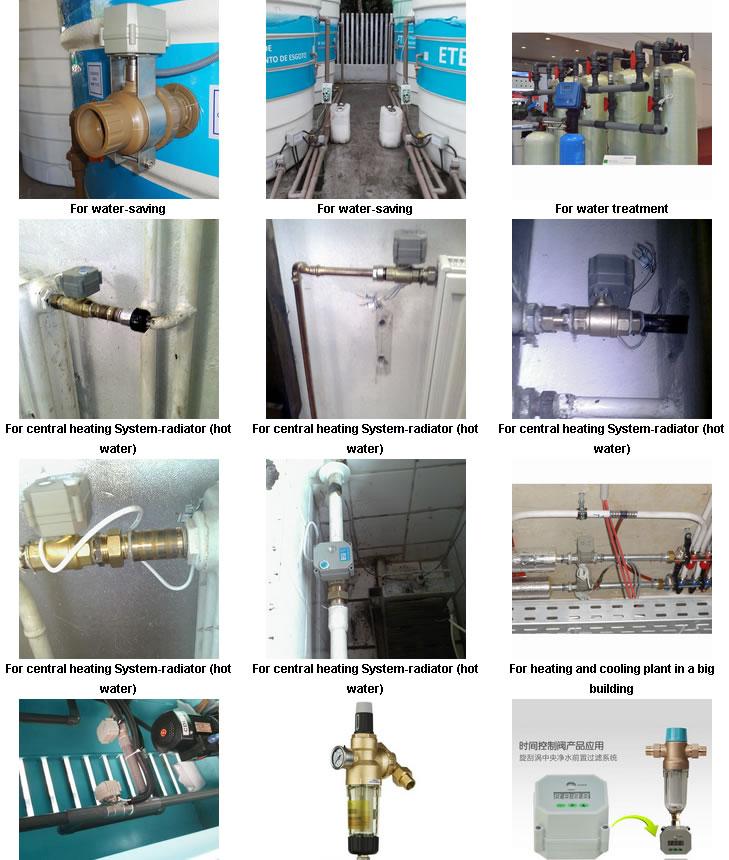 1.5 Inch Medium Pressure Standard or Nonstandard Motorized PVC Ball Valve Thread for Hot Water