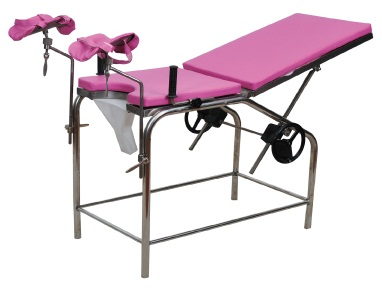 Stainless Steel Gynecological Examination Bed Jyk-B7205