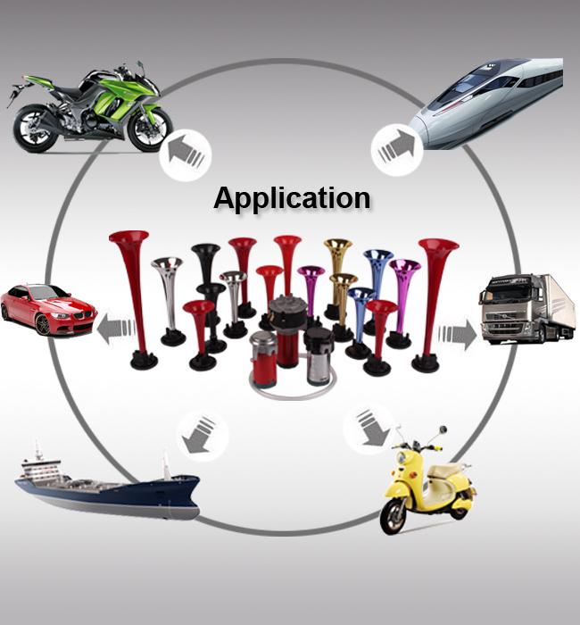 Disc Car Subwoofer Motorcycle Horn Speaker
