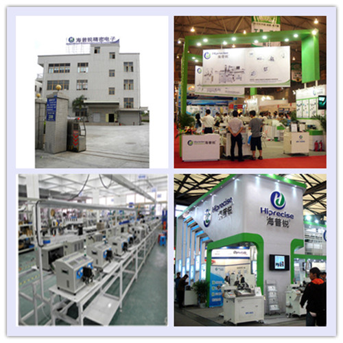 China Professional Supplier Automatic Wire Terminal Crimping Machine with SGS