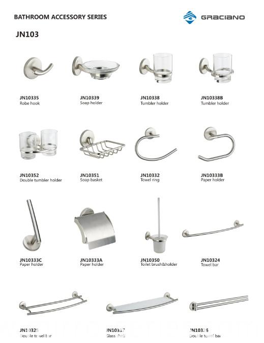 Bathroom Accessories New Design Competitive Glass Shelf