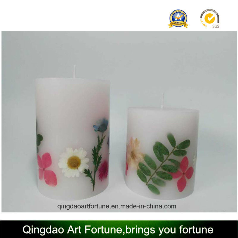 Dry Flower Inclusion Candle--Hand Pour