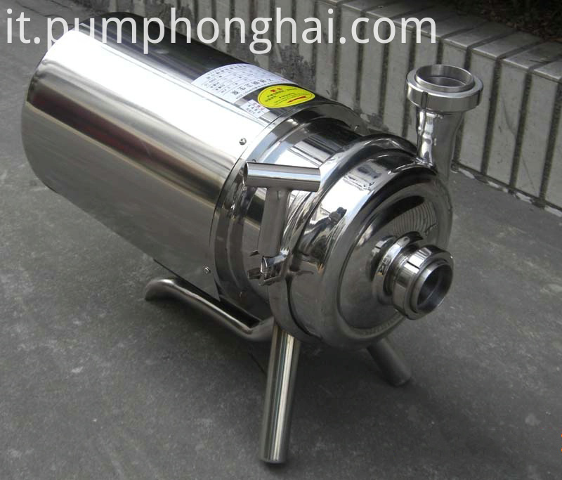 BAW sanitary liquid food grade transfer pump