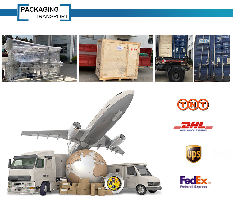Protective package materials making machine