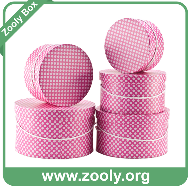 Hexagonal Heart-Shaped Round Mixed Paper Gift Boxes Set