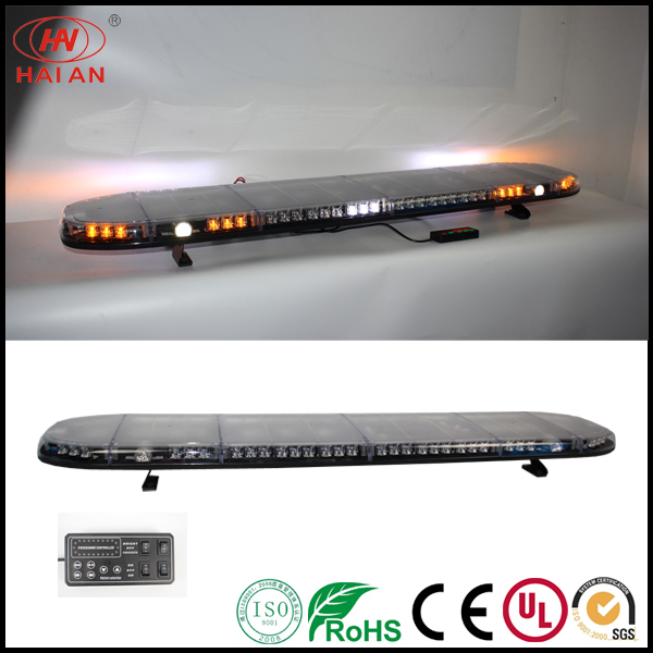 1500mm Truck Safety Lightbar with Working Lights Ambulance Fire Engine Police Car Lightbar Use The Police Car to Open up The Road