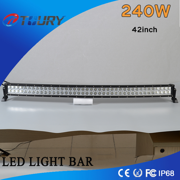 240W Curved Work Lamp 4WD Offroad LED Light Bar