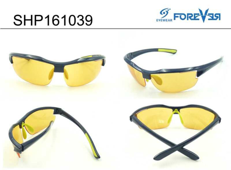 Shp161039 Night Vision Glasses with Yellow Polarized Lens