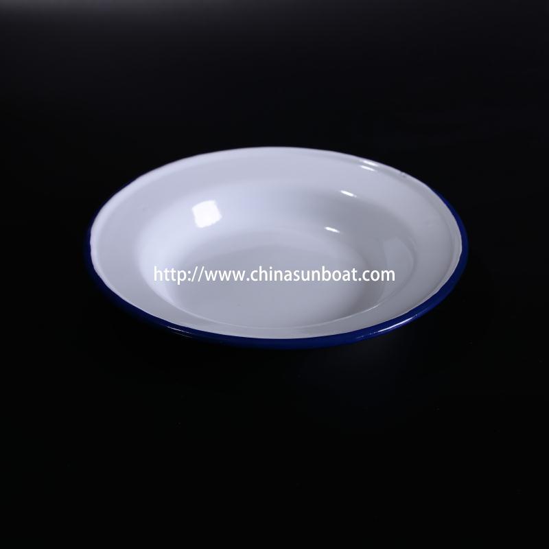 Sunboat Kitchenware Enamel Dinner Dish