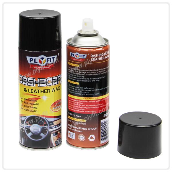 Car Dashboard Polish Wax or Silicone Spray