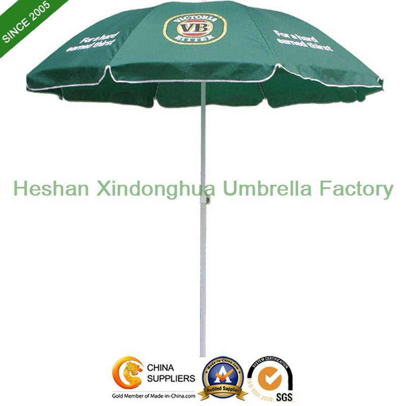 52inch Promotional Beach Umbrella with Windproof Ribs (BU-0052W)