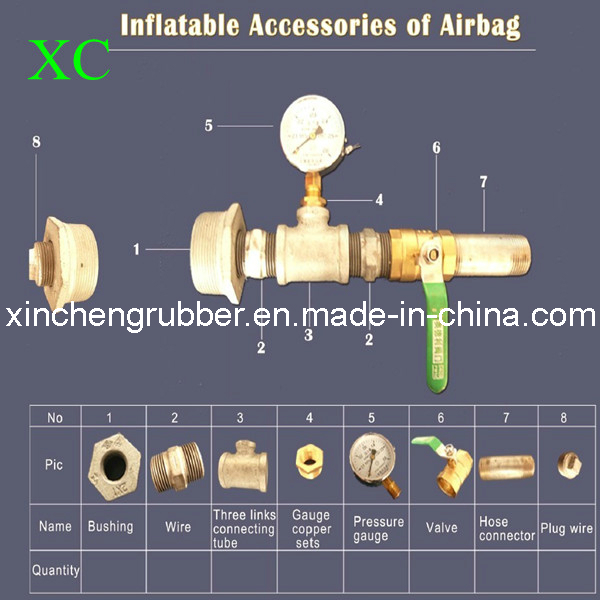 Ship Launching and Lifting Natural Rubber Airbag