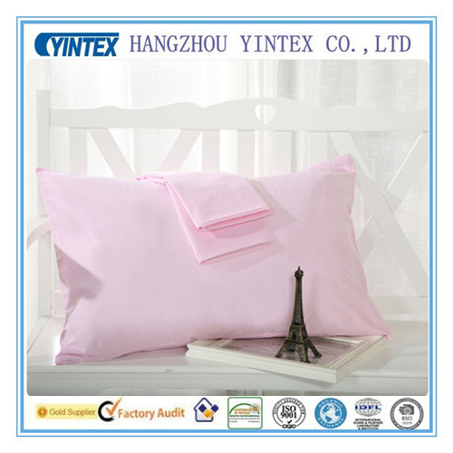 200t Hotel Pillow Case 100% Cotton White Pillow Case