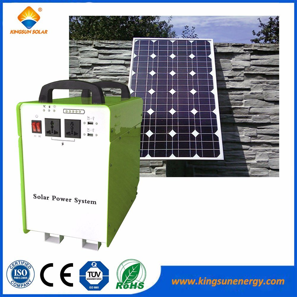 Home Solar Power PV System 300W & 500W with Ce RoHS Certificate