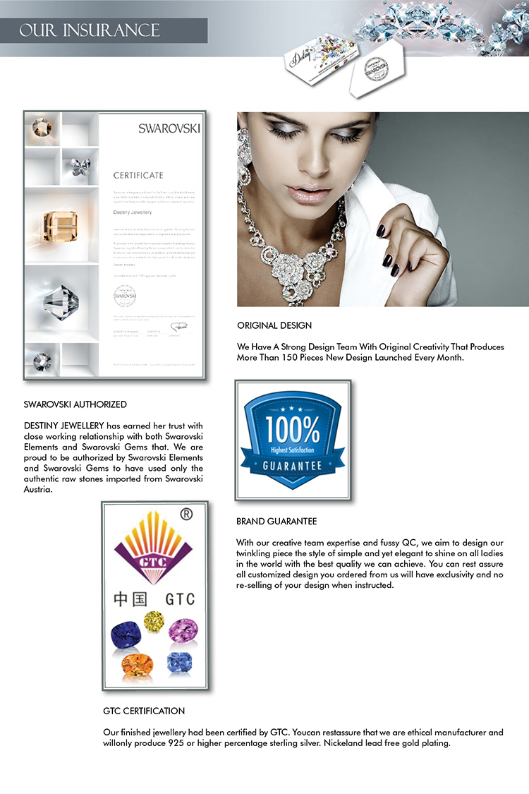 Destiny Jewellery Crystal From Swarovski Chris Cufflinks