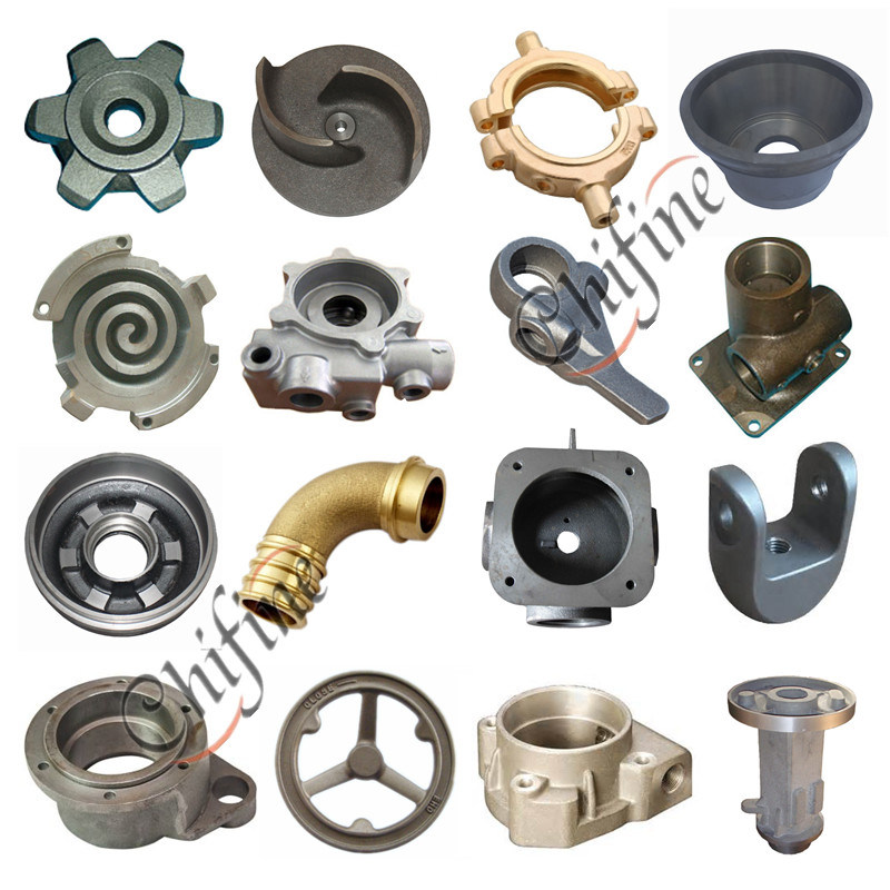 Customized Sand Casting Heavy Machinery Parts