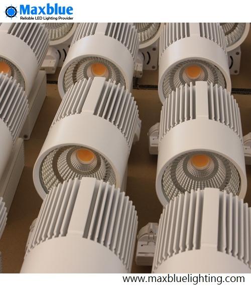 30W LED Ceiling Light Lamp Ra90/Ra80 CREE COB LED Track Lighting Fixtures Ce, RoHS, SAA, ETL