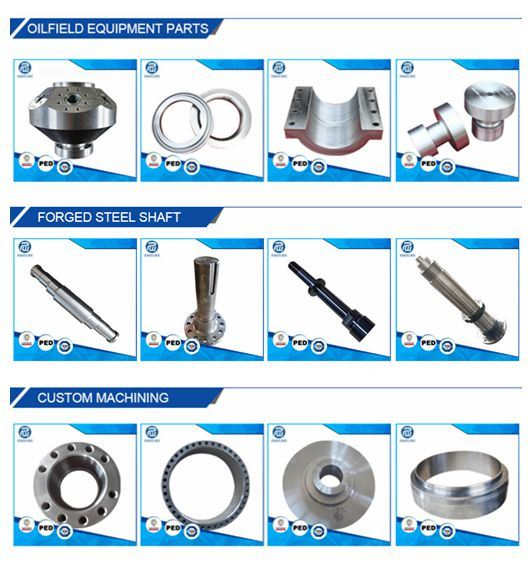 Use 34CrNiMo6 Steel Forged Precision Drive Shaft for Industry