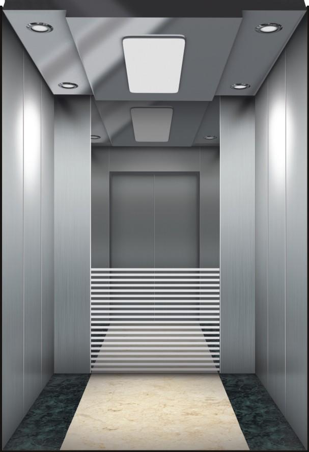 Small Machine Elevator Room Passenger Lift Running Stable OEM Provided