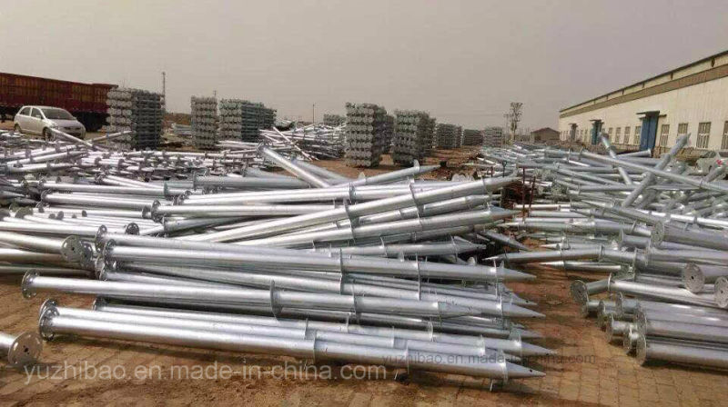 Galvanized Ground Steel Helical Screw Piles