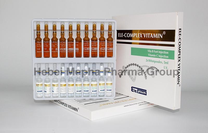 Skin Friendly Complex Vitamin B, Vb, B12, B6 Vita B Injection