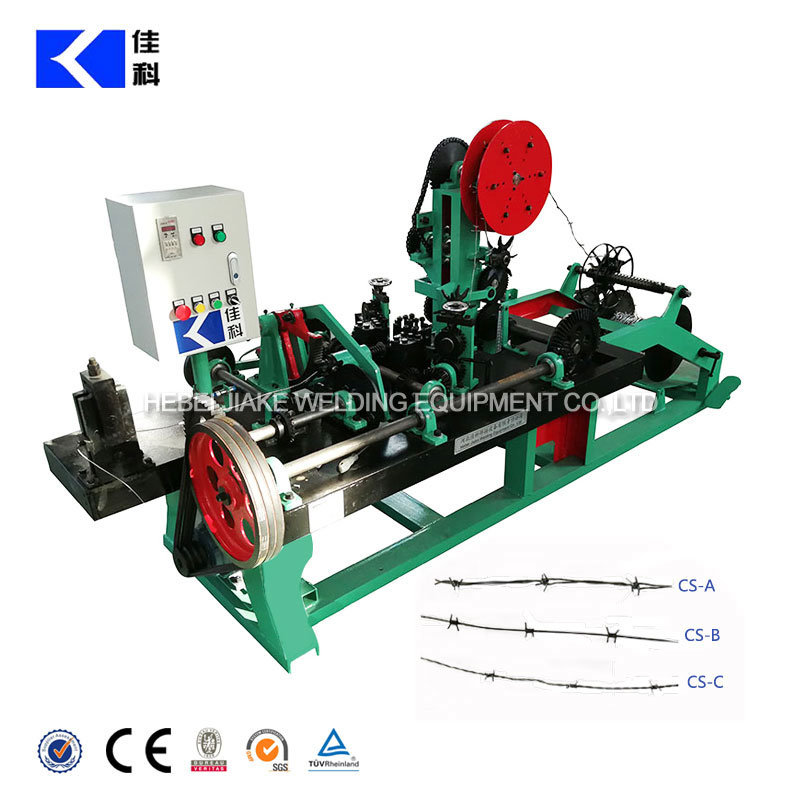 High Efficiency Fully Automatic Single Strand Barbed Wire Machine