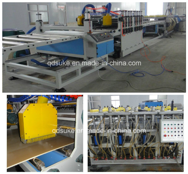 PVC Crust Foam Board Extrusion Production Line
