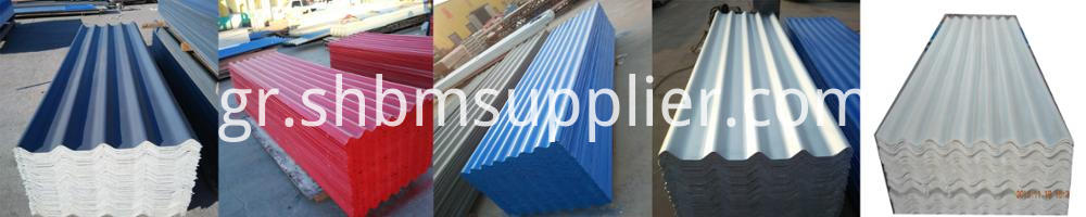 UV-blocking MgO Roofing Sheets
