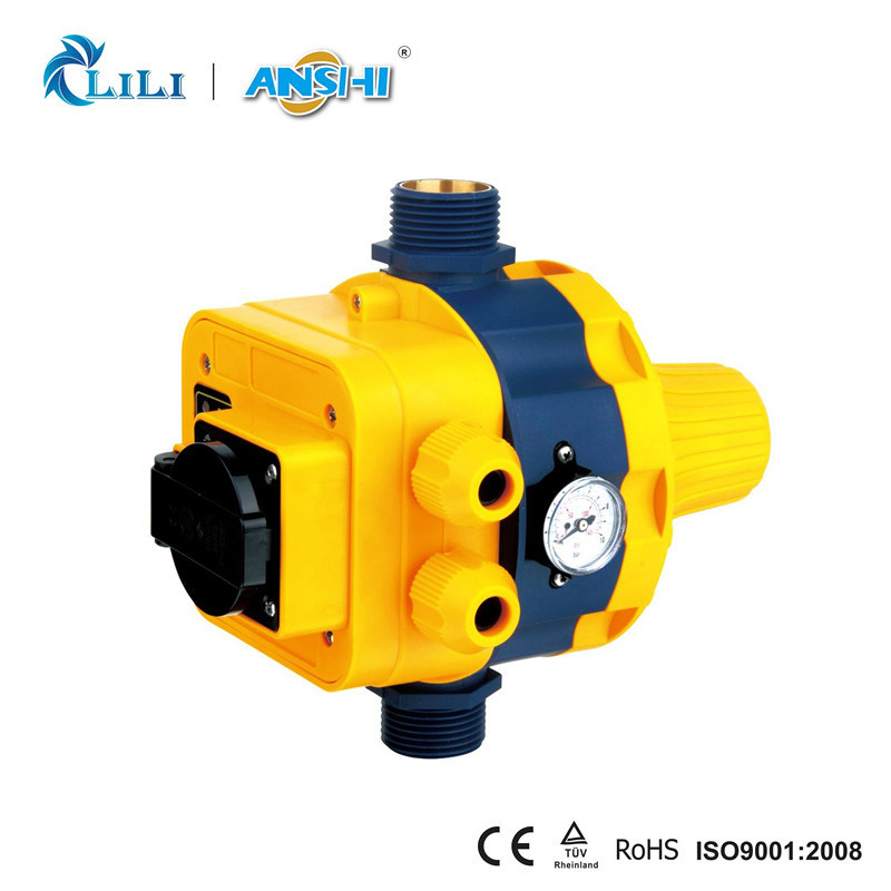 Anshi Automatic Pressure Switch with Socket for Water Pump (DSK-8.2)