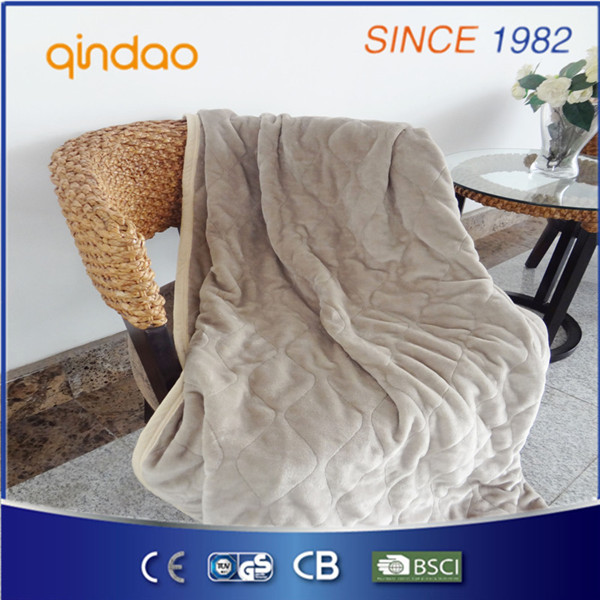 Flannel Throw Blanket with Binding Edge for North America Market