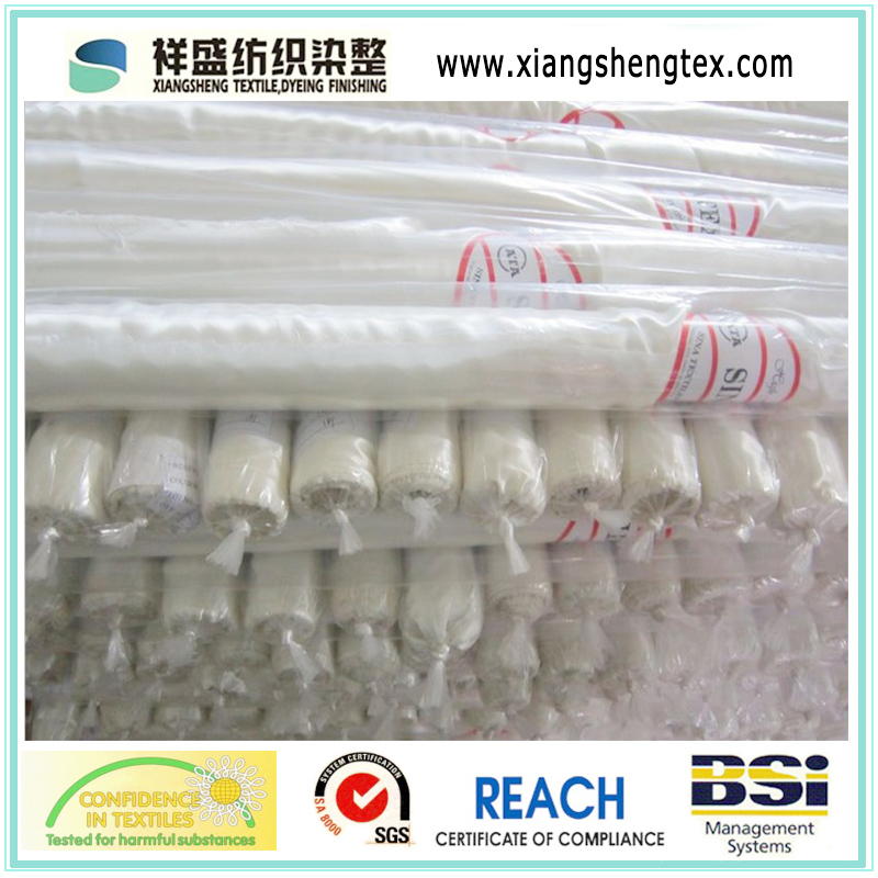100% Polyester Satin Funeral Fabric for Coffin Lining