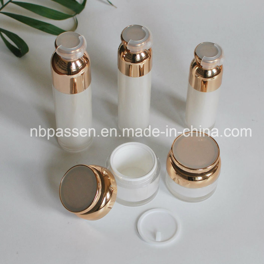 High-End Cosmetic Packaging Acrylic Bottle with Airless Pump (PPC-NEW-123)