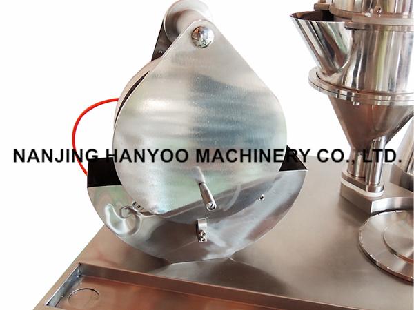 Pharmaceuticals Small Capsule Filling Machine for Had Gelatin Capsules #00 #0 #1