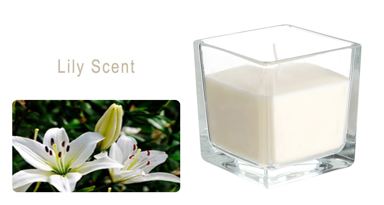 square aroma candles