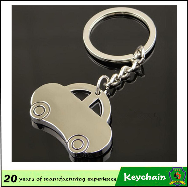 Metal Car Shape Keychain