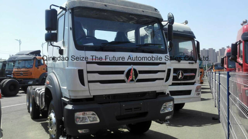 China Trucks Beiben Tractor Truck Head with Semitrailer for Africa