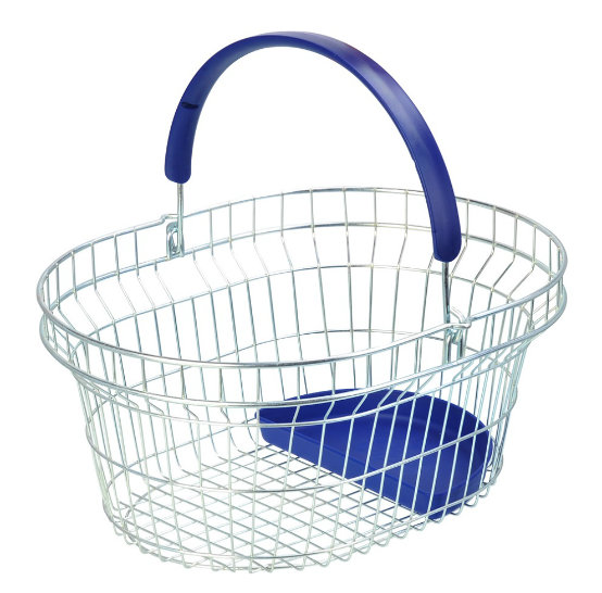 Supermarket Metal Shopping Basket with Handle