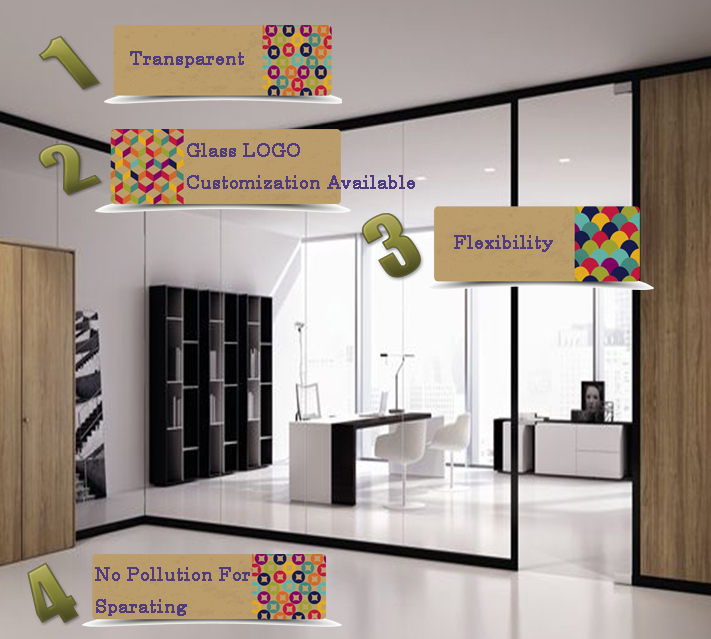 Tempered Office Room Glass