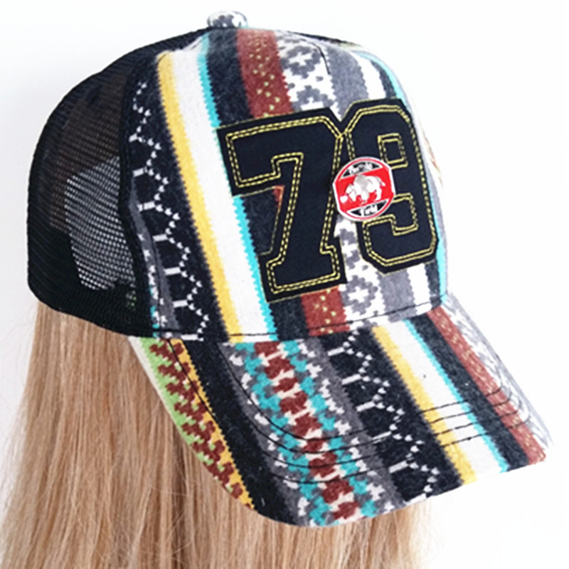 Set Custom Tide Embroidered City Fashion Sport Caps