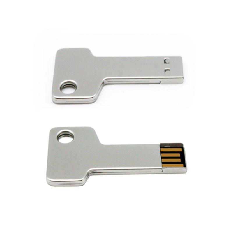 Promotion Metal Key Shape USB Flash Drive Memory USB Pendrive