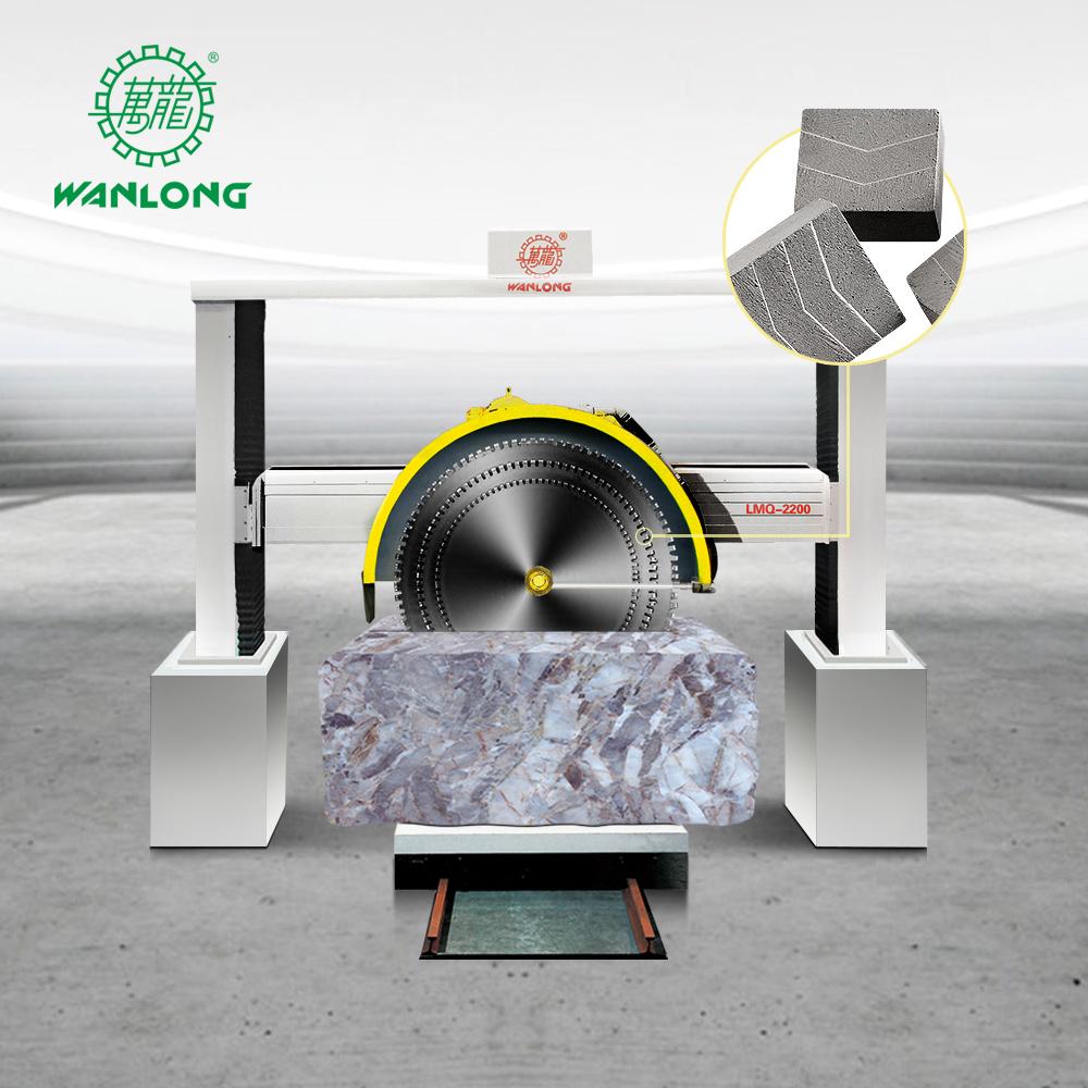 Large Blade Stone Block Granite Bridge Saw Cutting Machine