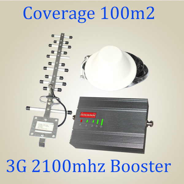 3G Cell Phone WCDMA Repeater UMTS 2100MHz 3G Bts Signal Booster 2100MHz 3G Repeater