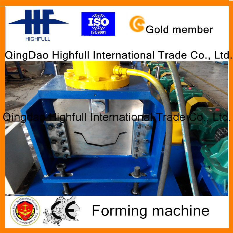 Galvanized Steel Stainless Gutter Roll Forming Machine